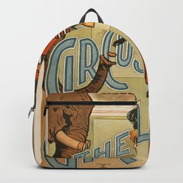 Vintage poster - The Circus Girl Backpack