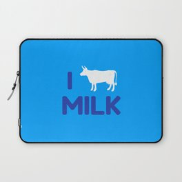 I heart Milk Laptop Sleeve