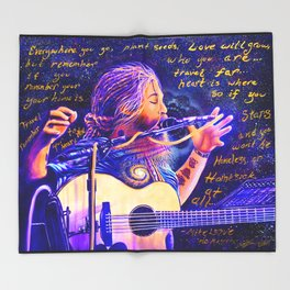 Mike Love ~ No Regrets <3 Throw Blanket