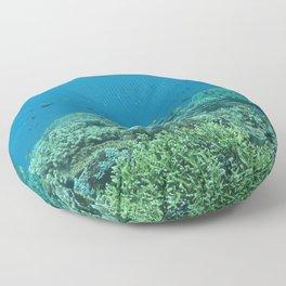 Living reef Floor Pillow