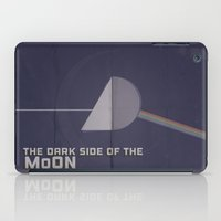 dark side of the moon iPad Cases featuring Dark Side of The Moon by Virna Varela