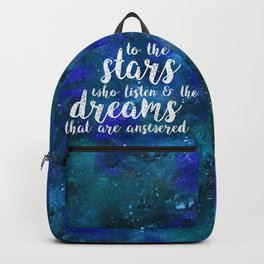 Dreams That Are Answered Backpack
