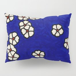 Small white flowers Pillow Sham