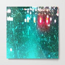 Red Lights Turn Green Metal Print