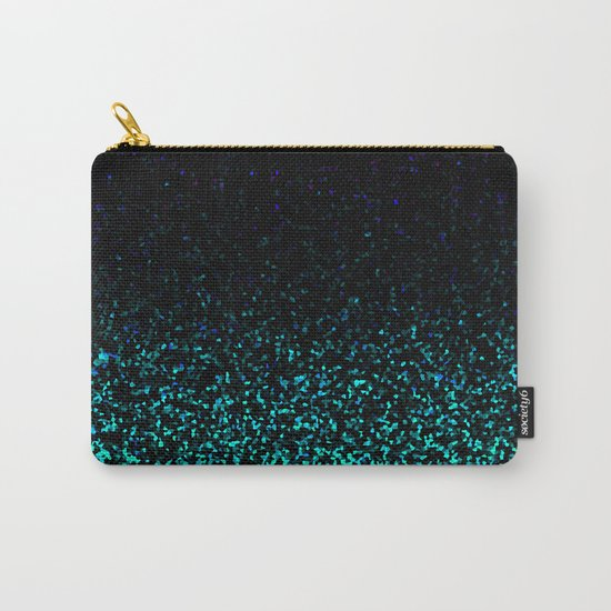 Mint Sparkle Carry-All Pouch