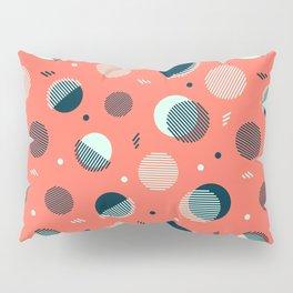 Pink Orbs Pillow Sham