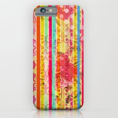 Retro Pattern Collage iPhone 6s Slim Case