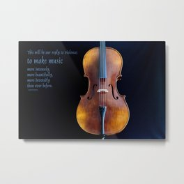 Make Music Metal Print