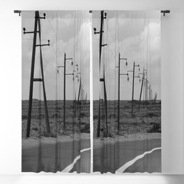 without a destination  Photo by Andrea Scuratti Blackout Curtain