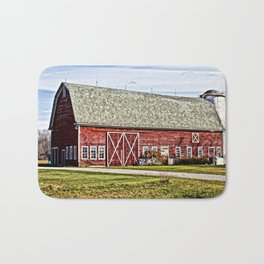 Wisconsin Old Barn 4 Bath Mat