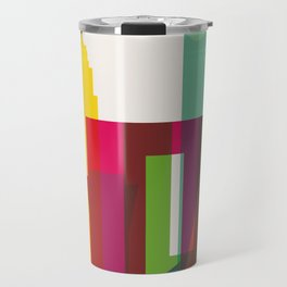 Shapes of Mexico City accurate to scale Travel Mug