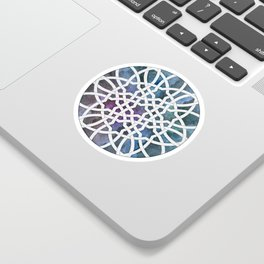 Galaxy Cutout Sticker