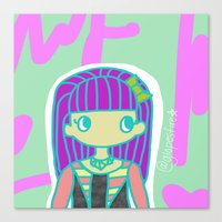jojo Canvas Prints featuring Jojo by Glopesfirestar