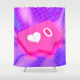 Friendzone Shower Curtain