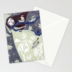 Clouds in November, Autumn Wind Splendor Stationery Cards