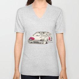 Crazy Car Art 0165 Unisex V-Neck