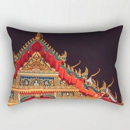 Thai temple / wat Rectangular Pillow