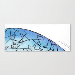 Energy Star Texture Canvas Print