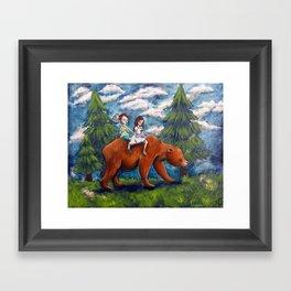 The Hunt Framed Art Print