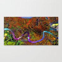 new orleans Canvas Prints featuring new orleans by donphil