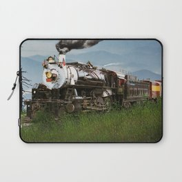 Smokey Mountain Railway Steam Locomotive Laptop Sleeve