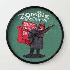 Zombie Lenin Wall Clock