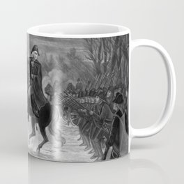 George Washington At The Battle Of Trenton Coffee Mug