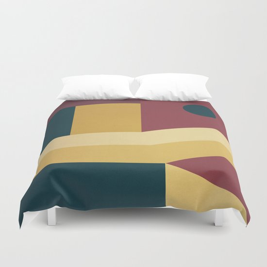Abstract #63 Duvet Cover