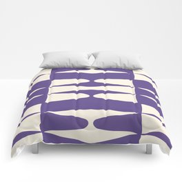 Zaha Ultra Violet Comforters
