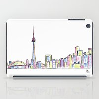 toronto iPad Cases featuring Toronto by Ursula Rodgers