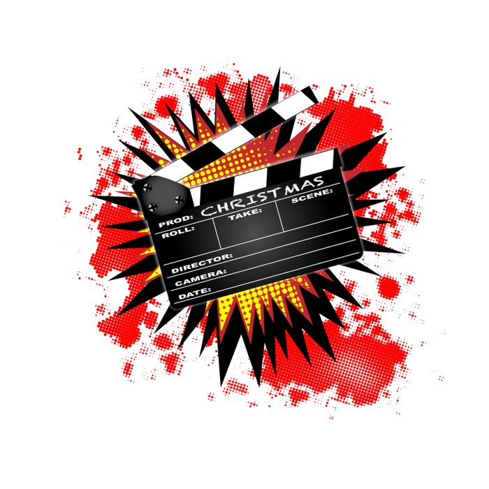 Christmas Clapperboard Comforters