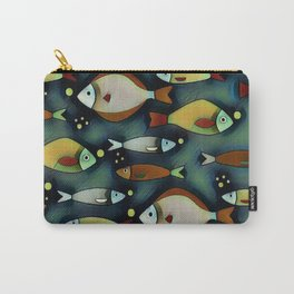 Fish Are Gonna Fish Carry-All Pouch