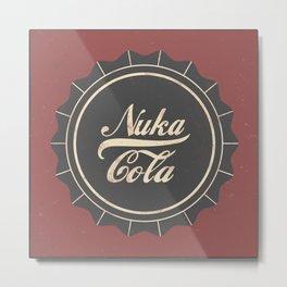Nuka Cola Metal Print