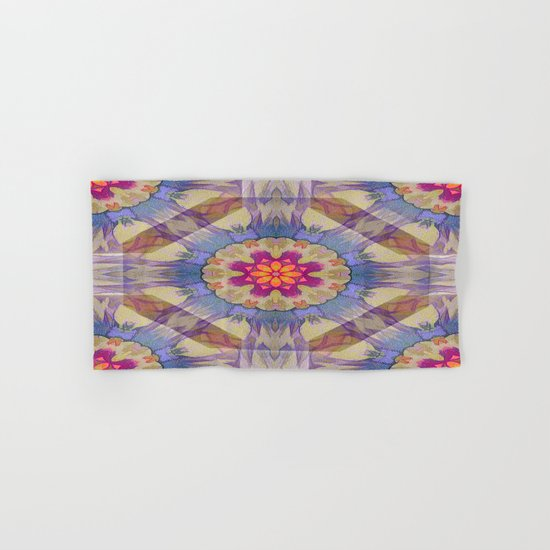 Sunset Kaleidoscope Hand & Bath Towel