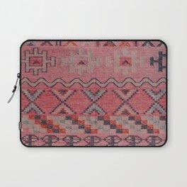 V21 New Traditional Moroccan Design Carpet Mock up. Laptop Sleeve
