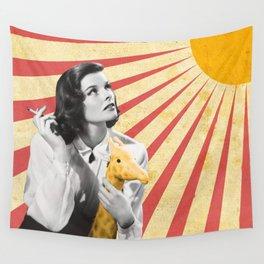 Katherine Hepburn Sun Wall Tapestry