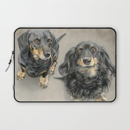The Long And Short Of It Laptop Sleeve