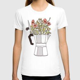 Moka Flowers T-shirt