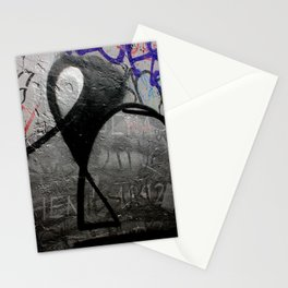 The Writing (And Printing) On The Wall Stationery Cards