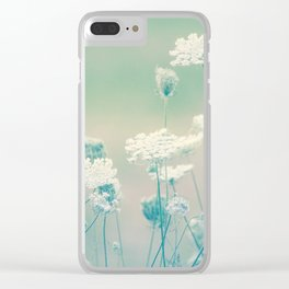 Nature's Delicacy Clear iPhone Case
