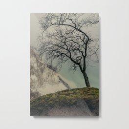 ON THE BRINK / Møns Klint, Denmark Metal Print