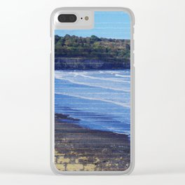 Yorkshire,England, Sandsend abstract. Clear iPhone Case