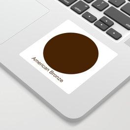 American Bronze Sticker