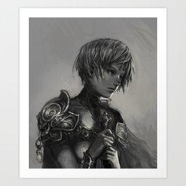 Clare Art Print