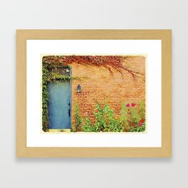 Portsmouth NH Door Framed Art Print