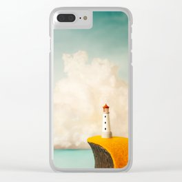 Little Lighthouse Clear iPhone Case