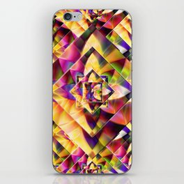 Number 1 Abstract by Mark Compton iPhone Skin
