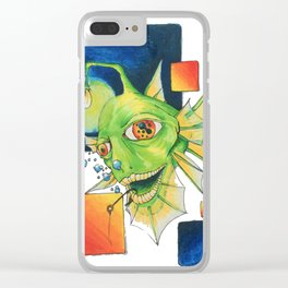 The Angler Clear iPhone Case