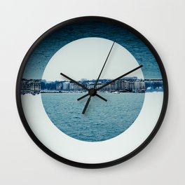 Geneva Circles Wall Clock