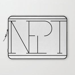 Inept Logo Laptop Sleeve